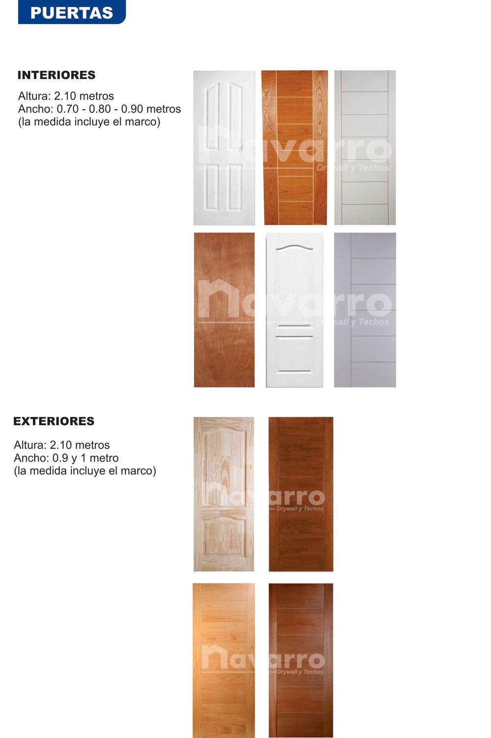 Puertas Exteriores E Interiores Navarro Drywall En Ilo Moquegua